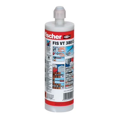 Fischer FIS VT Vinylester Injection Resin - 380ml
