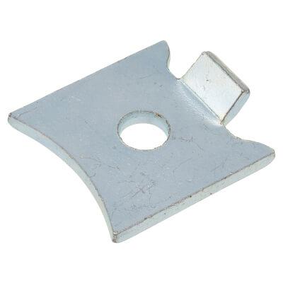 ION Standard Raised Bookcase Clip - Bright Zinc Plated