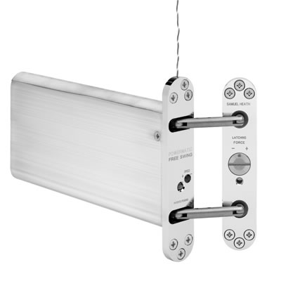 Powermatic R106FS Free Swing Concealed Door Closer - Satin Chrome