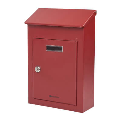 Country 2 Mailbox - 325 x 220 x 100mm - Red