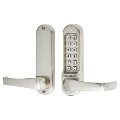 Codelocks 500 Mechanical Lock - Stainless Steel