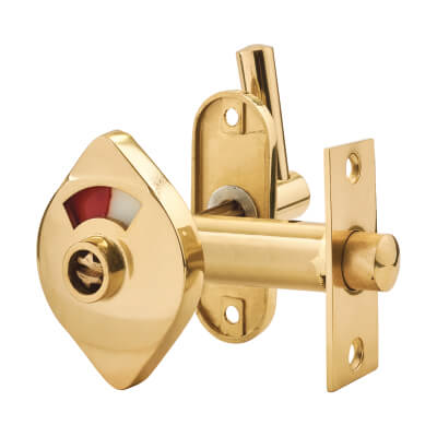 Lever Indicator Bolt - Polished Brass