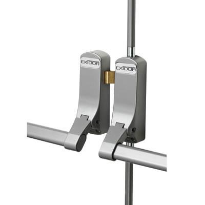 Exidor 285 Rebated Double Door Panic Bar Set