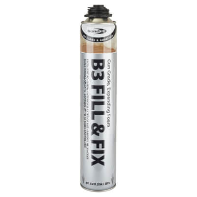 Bond It Expanding Foam Filler - 750ml - Gun Grade