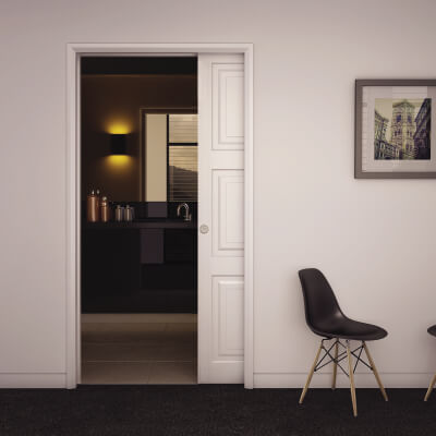 Klug Ultra Pocket Door Kit - 120mm Finished Wall Thickness - 915mm Maximum Door Width