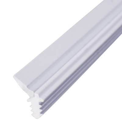 Exitex Staff Seal - 2.5 x 5mm Groove - 2400mm - White