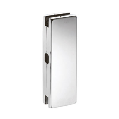 Strike Box to Suit Glass Door Centre Patch Lock