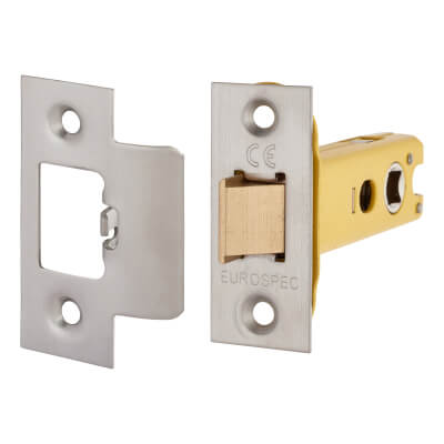 Altro Heavy Duty Tubular Latch - 78mm Case - 57mm Backset - Satin Stainless