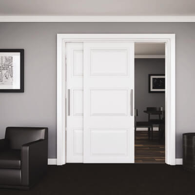 Klug Double Top 45 Sliding Door System - Track and Channel Pack - 2000mm