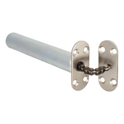 Chain Closer - Radius Plate - Chrome