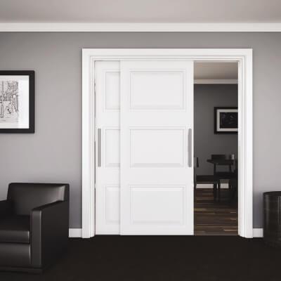 KLÜG Double Top 45 Sliding Door System - Fitting Pack