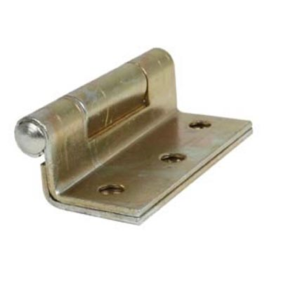 Storm Proof Casement Hinge - 63mm - Yellow Zinc Passivated