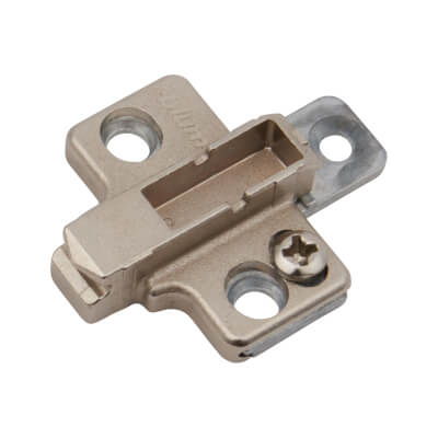 Blum Mounting Plate - 3mm Spacing - Zinc Diecast