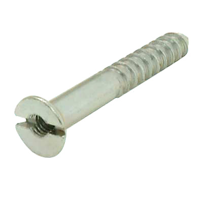 Steel Mirror Screw - 8 x 2""