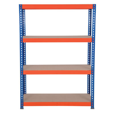 4 Shelf Budget Shelving - 265kg - 1800 x 1200 x 600mm