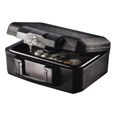 SentrySafe 30 Minute Fire Rated Security Chest - 362 x 284 x 156mm - Black