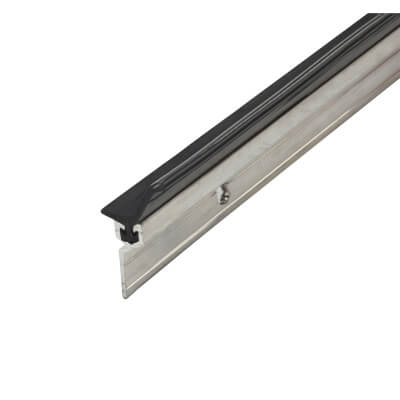 Exitex Perimeter Seal - Single Door Kit - Plain Aluminium