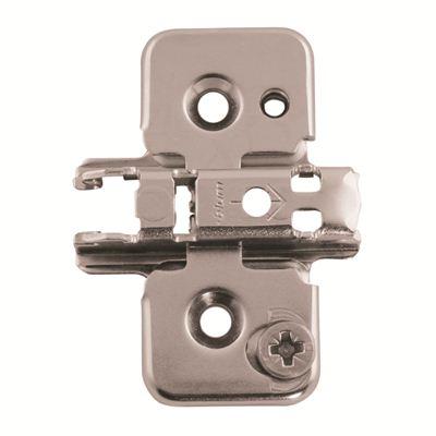 Blum Mounting Plate - 3mm spacing - Pressed Steel