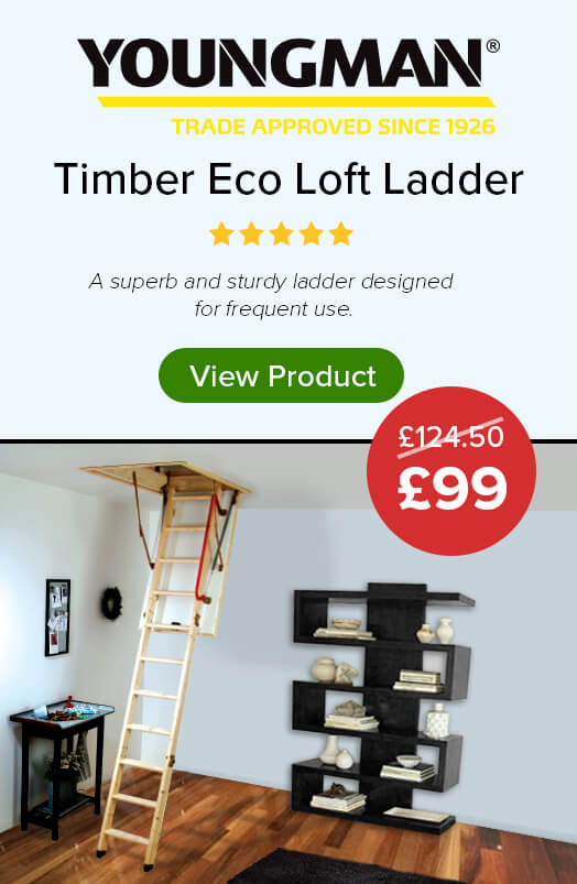 Youngman Timber Eco Loft Ladder