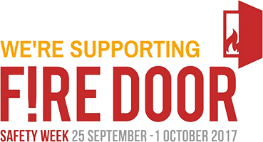We Support Fire Door Safety Week