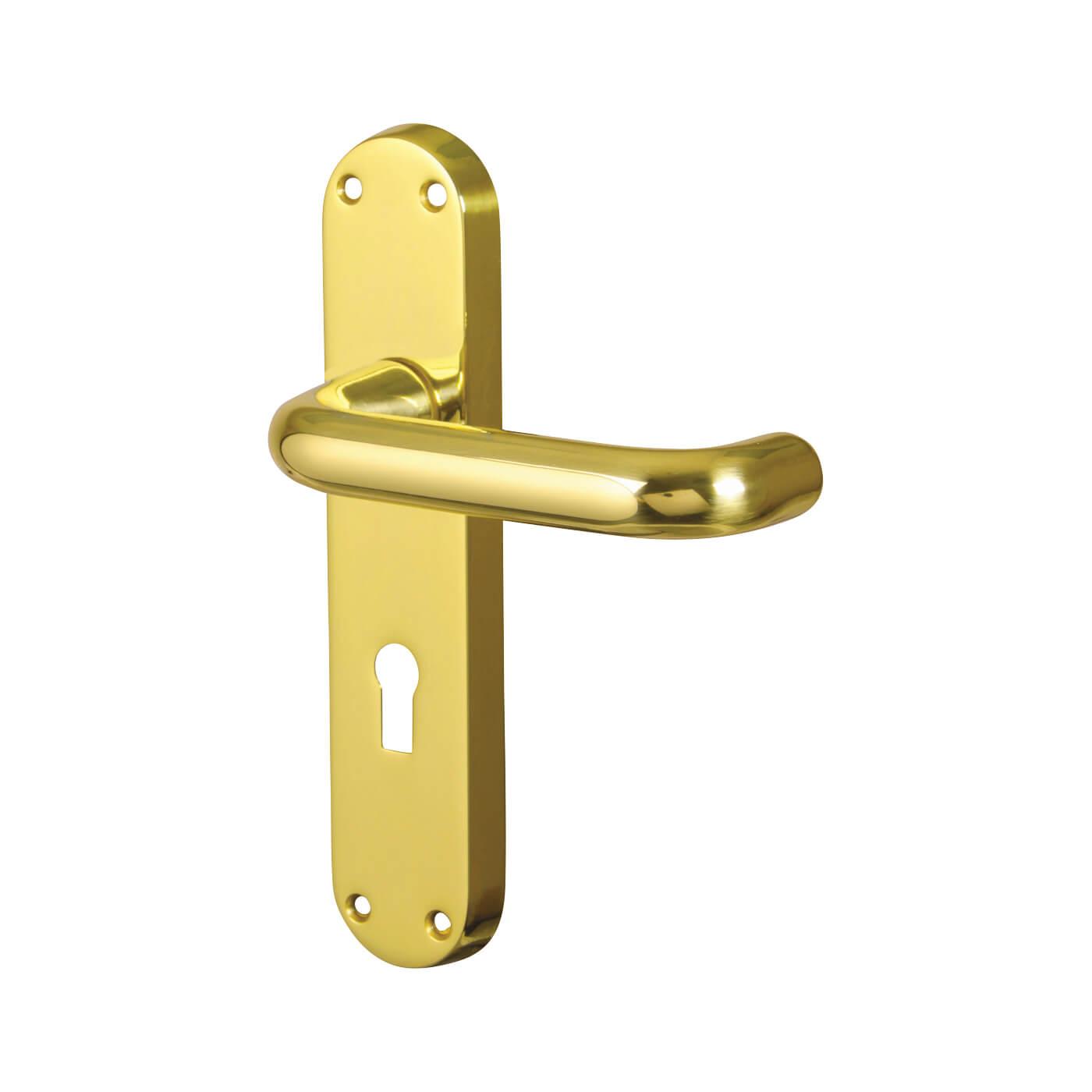 Carlisle Brass 19mm Return To Door Handle Keyhole Lock