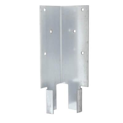 Taurus Fence Panel Arris Rail Mortice Bracket - Galvanised