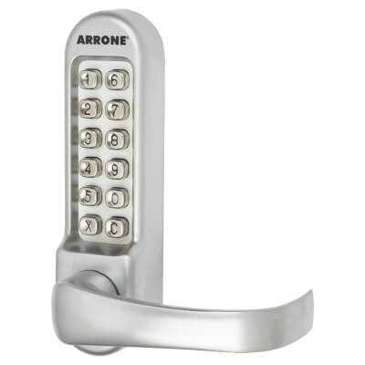 Arrone AR/D-515 Panic Access Lock - Matt Chrome)