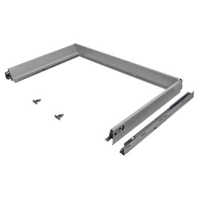 Blum TANDEMBOX ANTARO Drawer Pack - BLUMOTION Soft Close - (H) 84mm x (D) 550mm x (W) 900mm - Grey)
