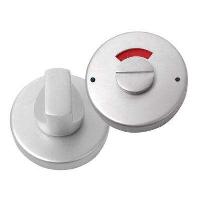 Anti-Bacterial Bathroom Turn & Release - Stainless Steel