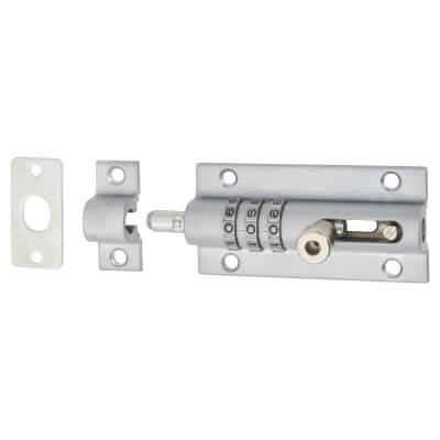 Squire CombiBolt 3 Combination Bolt - Chrome