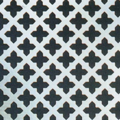 Perforated Aluminium Sheet - 23mm Hole)