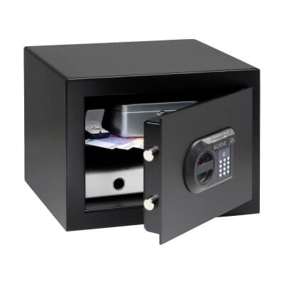 Burg Wächter H 1 E HomeSafe Electronic Safe - 278 x 402 x 376mm - Black)