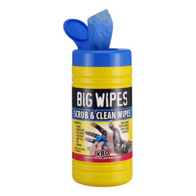Big Wipes Scrub and Clean - 80 Tub