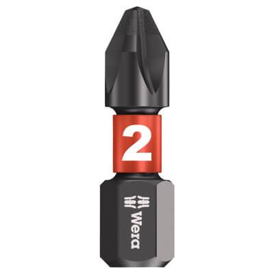 Wera Impaktor Phillips Bit - Single - PH2 x 25mm