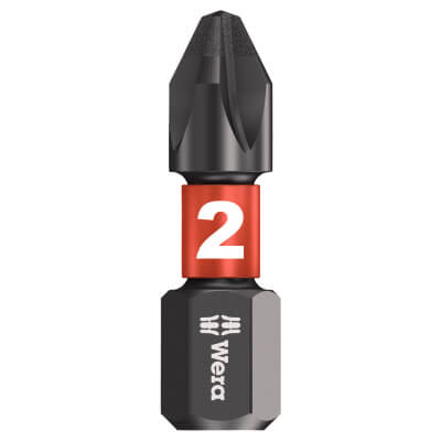 Wera Impaktor Phillips Bit - Single - PH2 x 25mm