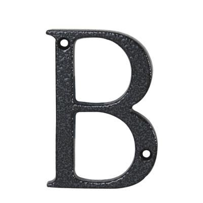 76mm Letter - B - Antique Black Iron