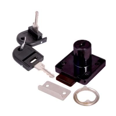 Cylinder Deadbolt - 19 x 32mm - Keyed Alike - Differ 1 - Black Nickel