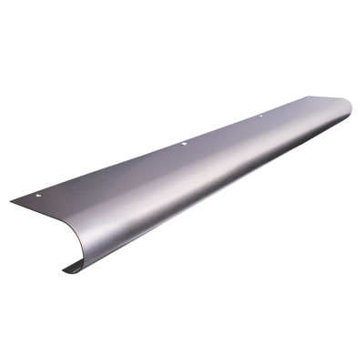 Altro Bull Nose Door Step - 750mm - Stainless Steel
