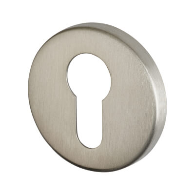 Altro Escutcheon - Euro - Satin Stainless Steel)