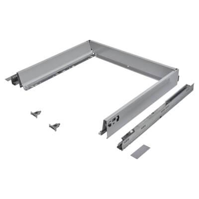 Blum TANDEMBOX ANTARO Drawer Pack - BLUMOTION Soft Close - (H) 84mm x (D) 500mm x (W) 600mm - Grey)