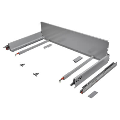 Blum TANDEMBOX ANTARO Pan Drawer - BLUMOTION Soft Close - (H) 203mm x (D) 450mm x (W) 1000mm - Grey)