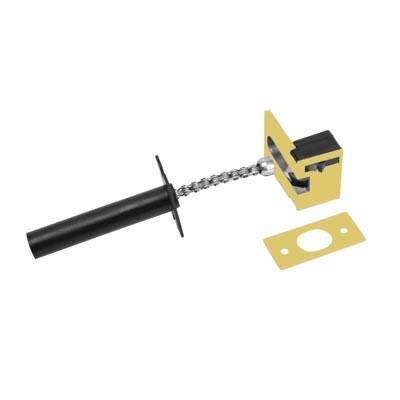 ERA® Concealed Door Chain - Brass Effect