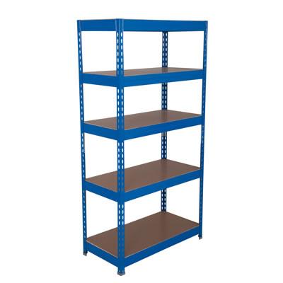 5 Shelf Budget Shelving - 175kg - 1760 x 900 x 450mm