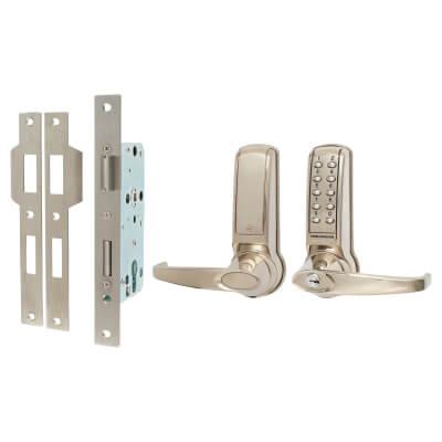Codelocks 4020 Electronic Lock - Stainless Steel)