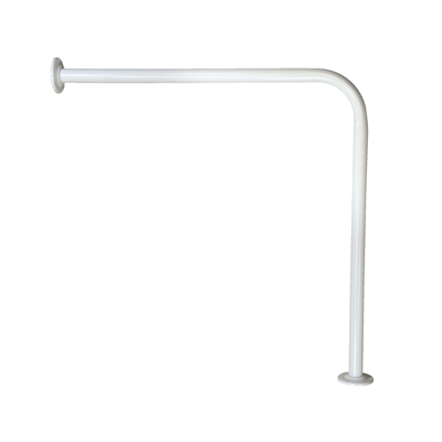 Nymas Floor To Wall Rail - 760 x 760mm - White