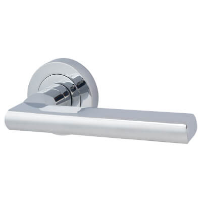 Touchpoint Sophia Door Handle - Polished Chrome