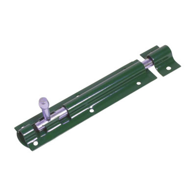 Tower Bolt - 150mm - Green