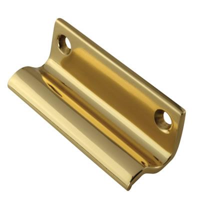 Five Finger Sash Lift - 63mm - Polished Brass