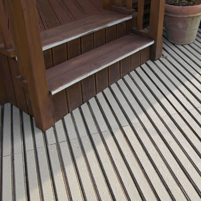 DeckGrip Strip - 2400 x 90mm - Stone