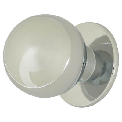 Touchpoint Ball Cabinet Knob - 25mm - Polished Chrome
